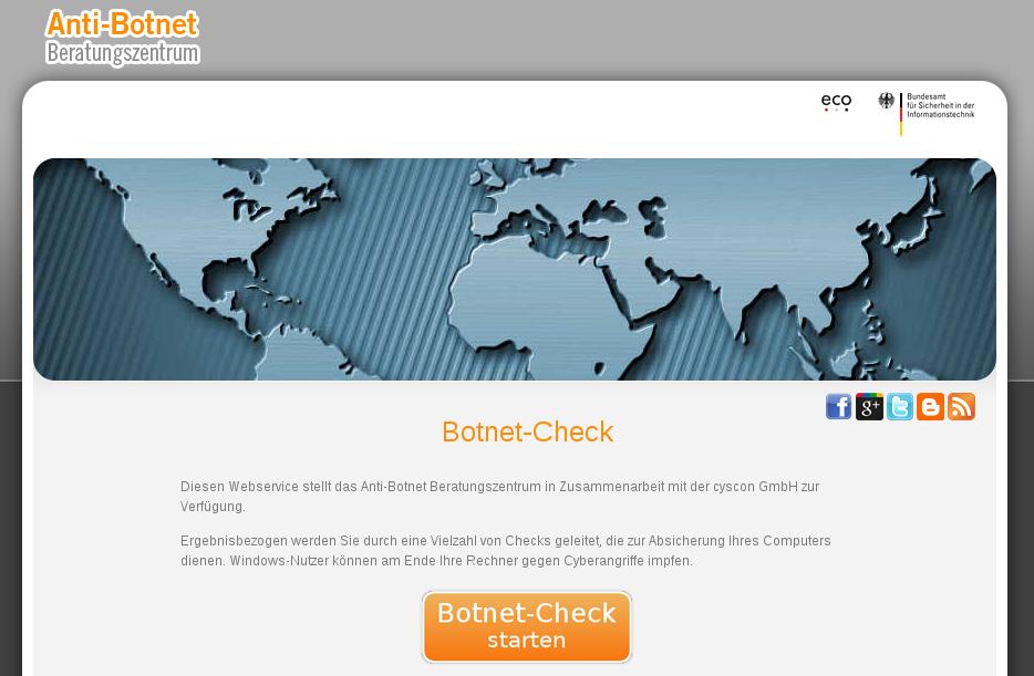 Botnet Check Bundesamt